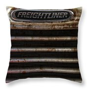 Freightliner Highway King Throw Pillow
