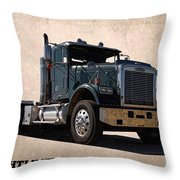 Freightliner Throw Pillow
