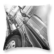 Freightliner Side View Throw Pillow