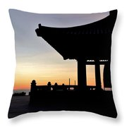 Freindship Bell Throw Pillow