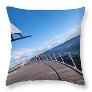 Fremantle Maritime Museum 10 Throw Pillow