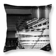 Fremont Street Neon Throw Pillow