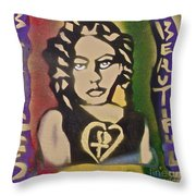 French Braided 1 Throw Pillow