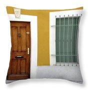 French Doorway Throw Pillow