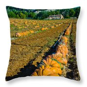 French Farm Near Lacoste Throw Pillow