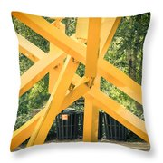 French Fries Throw Pillow