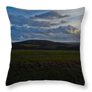 French Hills Throw Pillow