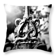 French Iron Throw Pillow by Perry Webster
