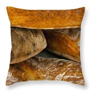 French Loaves Throw Pillow