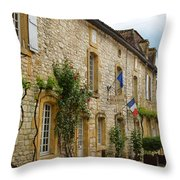 French City Hall Throw Pillow
