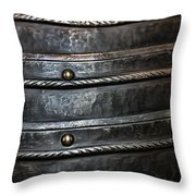 French Monarchy Steel Throw Pillow