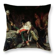 French Occupation Throw Pillow
