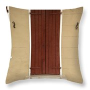 French Quarter Door - 34 Throw Pillow