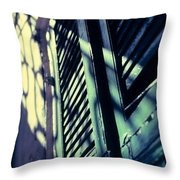 French Quarter Doors Throw Pillow by Carol Whaley Addassi