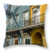 French Quarter Flair Throw Pillow