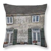 French Quarter Home Throw Pillow