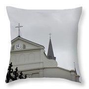 French Quarter Treasure Throw Pillow