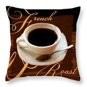 French Roast Throw Pillow