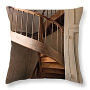 French Spiral Staircase Throw Pillow