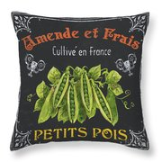 French Vegetables 2 Throw Pillow