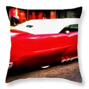 Frenched 55 Throw Pillow