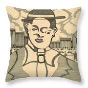 Frenchman Throw Pillow