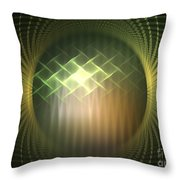 Frequency Modulation Throw Pillow