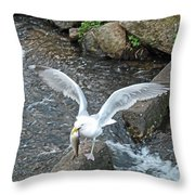 Fresh Catch Of The Day Throw Pillow