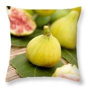 Fresh Figs Throw Pillow