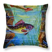 Fresh Fish Throw Pillow