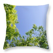 Fresh Foliage Throw Pillow