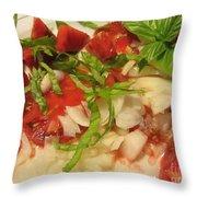 Fresh Garden Salad - Tomato Throw Pillow