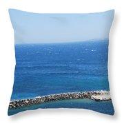 Fresh Mistral Wind Throw Pillow