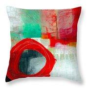 Fresh Paint #6 Throw Pillow