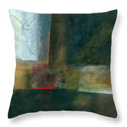 Fresh Paint #8 Throw Pillow