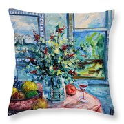 Fresh Spring Throw Pillow