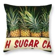 Fresh Sugar Cane Throw Pillow