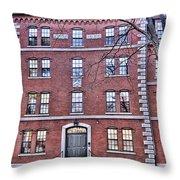 Freshman Dormitory-harvard University V2 Throw Pillow