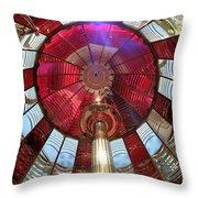 Fresnel Guiding Light Throw Pillow