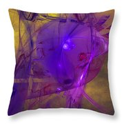 Friday Frustration Throw Pillow