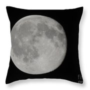 Friday The 13th Full Moon Throw Pillow