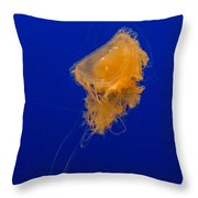 Fried Egg Jelly Throw Pillow