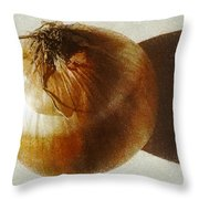 Fried Onion Flavour  Throw Pillow