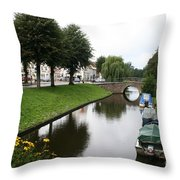 Friedrichstadt - Germany Throw Pillow