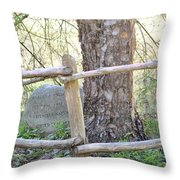 Friend Of Nature Throw Pillow