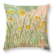 Lkp's Friendly Garden Throw Pillow