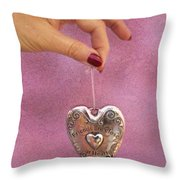Friends Are Close At Heart Throw Pillow