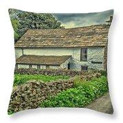 Friends Meeting House England Throw Pillow
