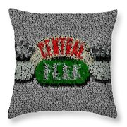 Friends Theme Song Lyrics Mosaic Throw Pillow
