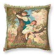 Friendship-c Throw Pillow